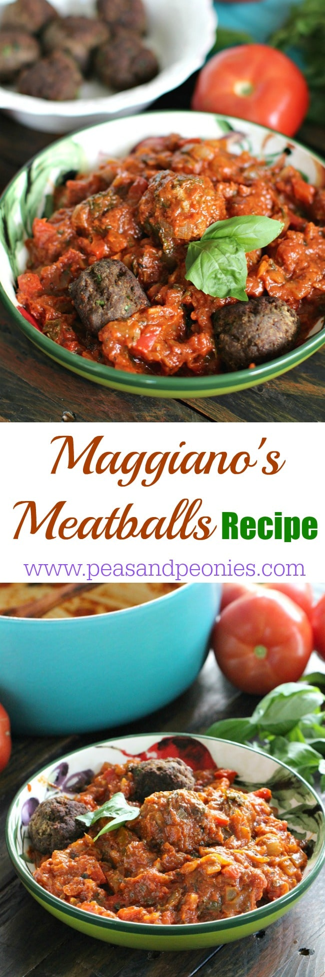 With Maggiano's Meatballs recipe you can make perfect restaurant style meatballs in the comfort of your home. Serve with marinara sauce and spaghetti.