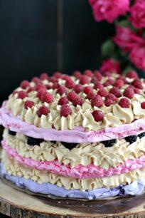 Ombre Meringue Cake 8007