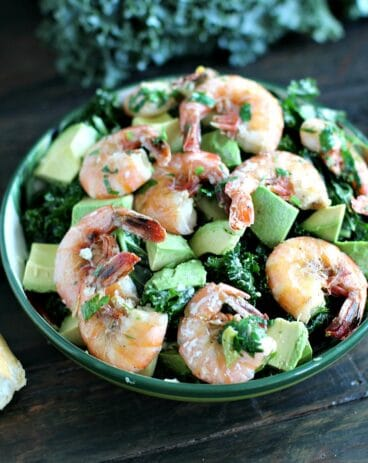 Garlic Kale Salad
