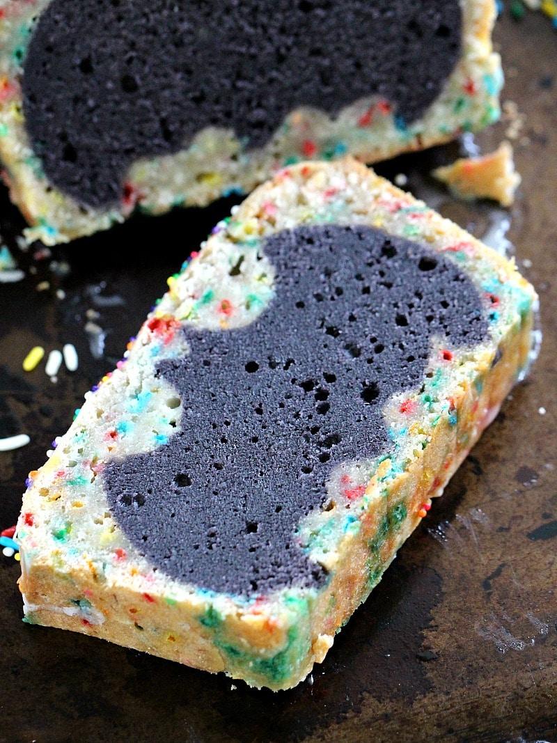 Vegan Batman Cake