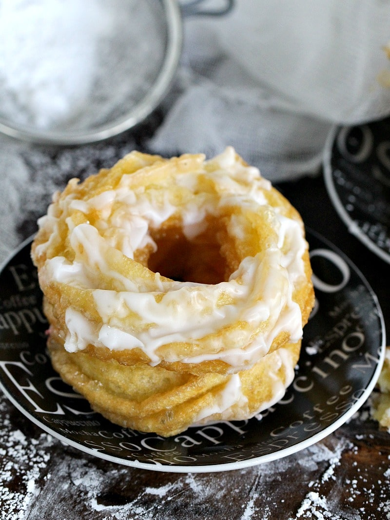 Dunkin Donuts French Cruller Recipe