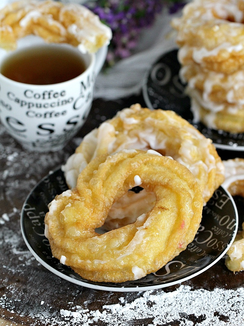 The Dunkin Donuts French Cruller donut made in the comfort of your home with just a few ingredients is yeast free and will be ready in under 30 minutes.
