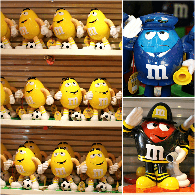 M&M's World Store NYC Collage1