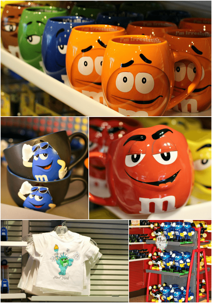 M&M's World Store NYC Collage2