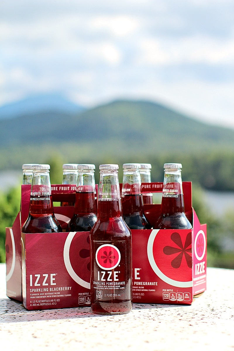 Hiking Trip with IZZE Sparkling Juice 8002