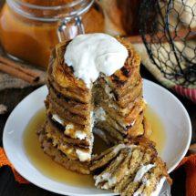 Pumpkin Cheesecake Pancakes 8003