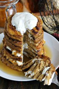 Pumpkin Cheesecake Pancakes 8004
