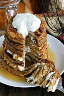 Pumpkin Cheesecake Pancakes 8004