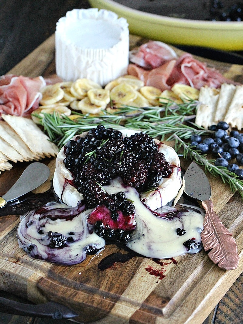 Rosemary Berry Baked Brie Recipe