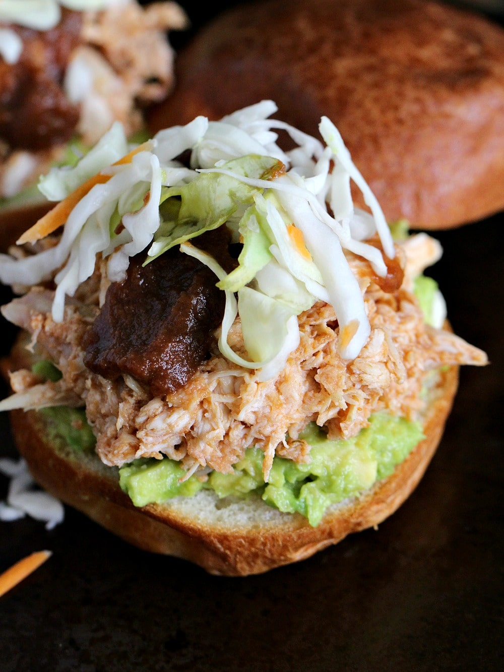 No-Cook Spicy Chicken Sliders