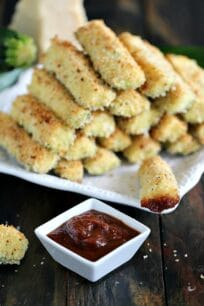 baked parmesan zucchini fries nr5