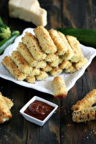 baked parmesan zucchini fries nr6