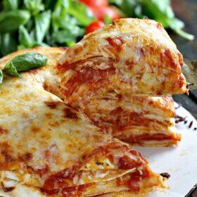 cheesy tortilla pizza torte 8006
