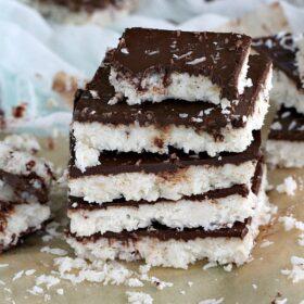 Paleo Coconut Crack Bars