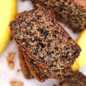 Poppy Seed Walnut Banana