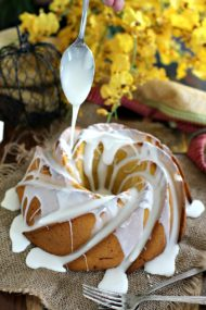 Pumpkin Butter Cake with Rum Glaze 8002