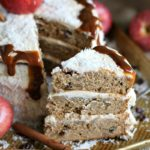 Apple Butter Cake with Dulce de Leche Buttercream 12