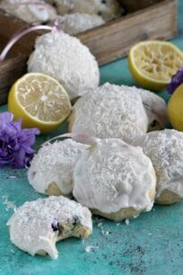 Blueberry Lemon Ricotta Cookies 9