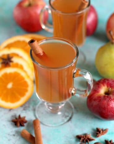 Easy Slow Cooker Apple Cider