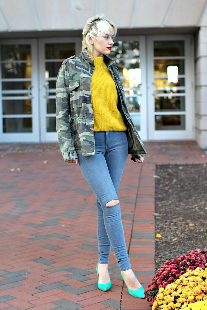 Comfy Yellow Sweater 2