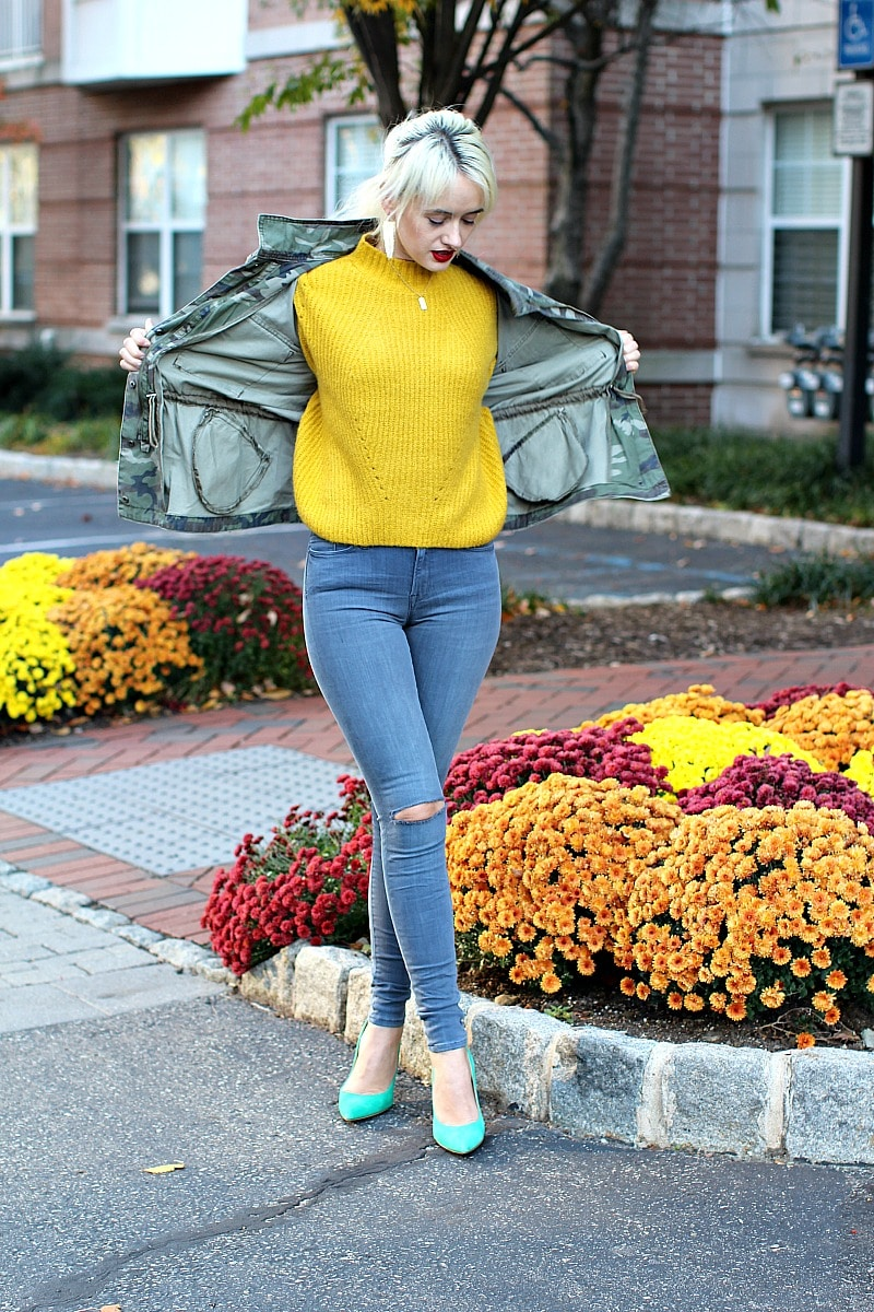 Comfy Yellow Sweater 3