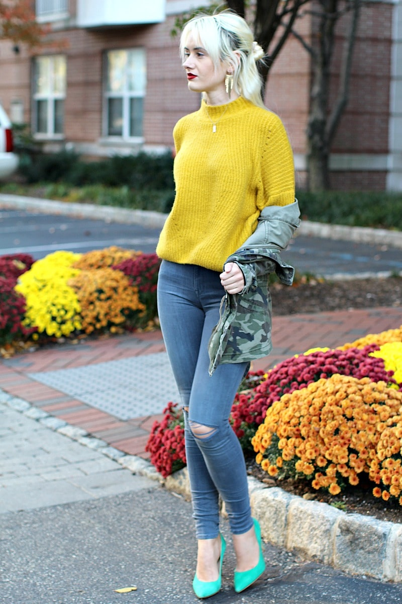 Comfy Yellow Sweater 4