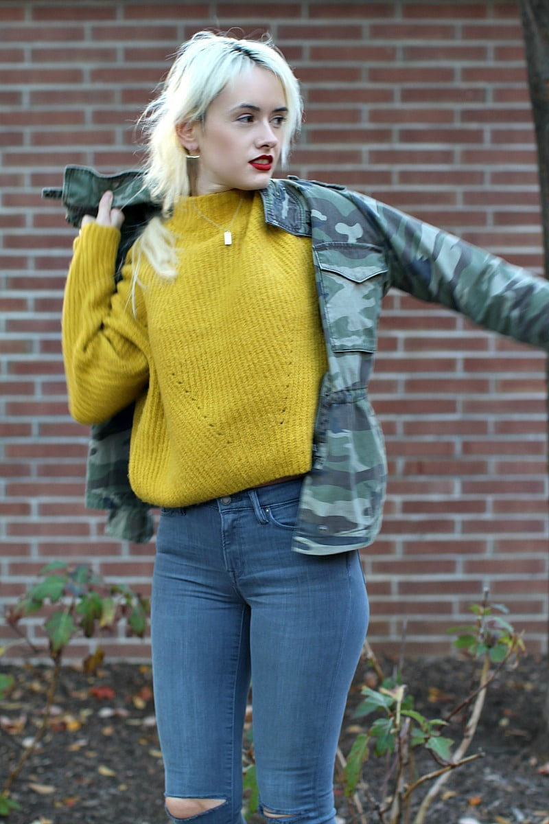 Comfy Yellow Sweater 6