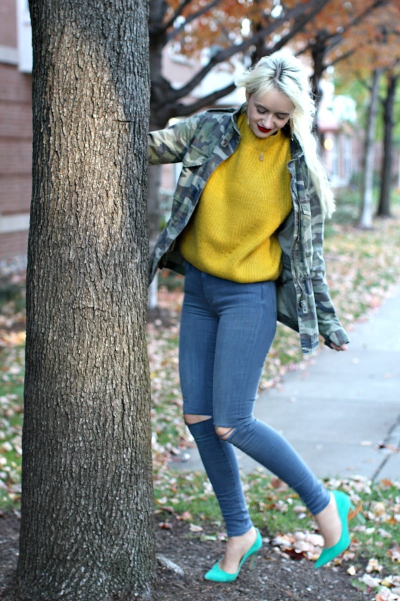 Comfy Yellow Sweater 10