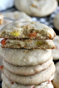 Brown Butter Cookies with Reese's Pieces 8003