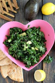 Easy Massaged Kale Salad