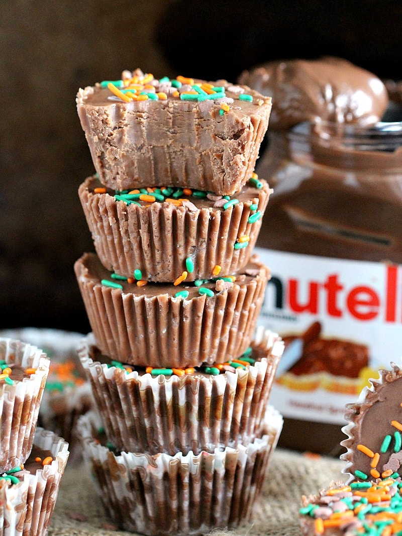 No Bake Nutella Fudge