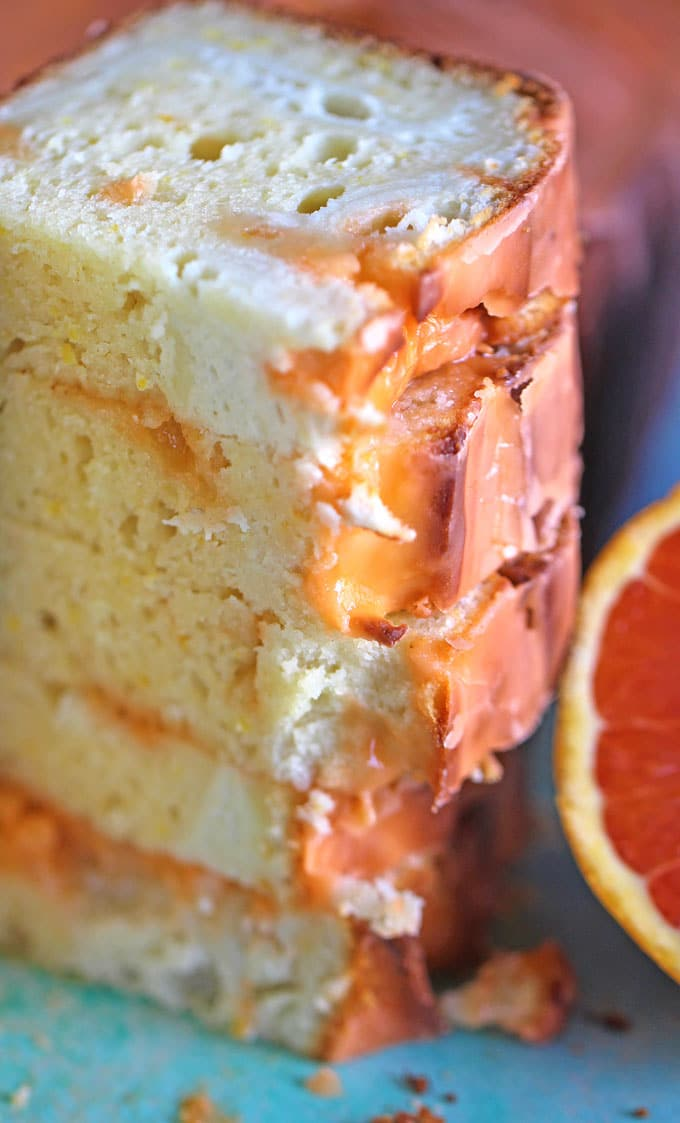 Orange Pound Cake with Orange Glaze