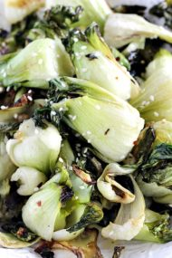 Oven Roasted Bok Choy is a very easy and delicious side dish, ready in 20 minutes and loaded with garlic flavor these will become an instant favorite.