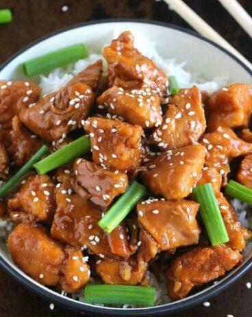 Instant Pot Mongolian Chicken