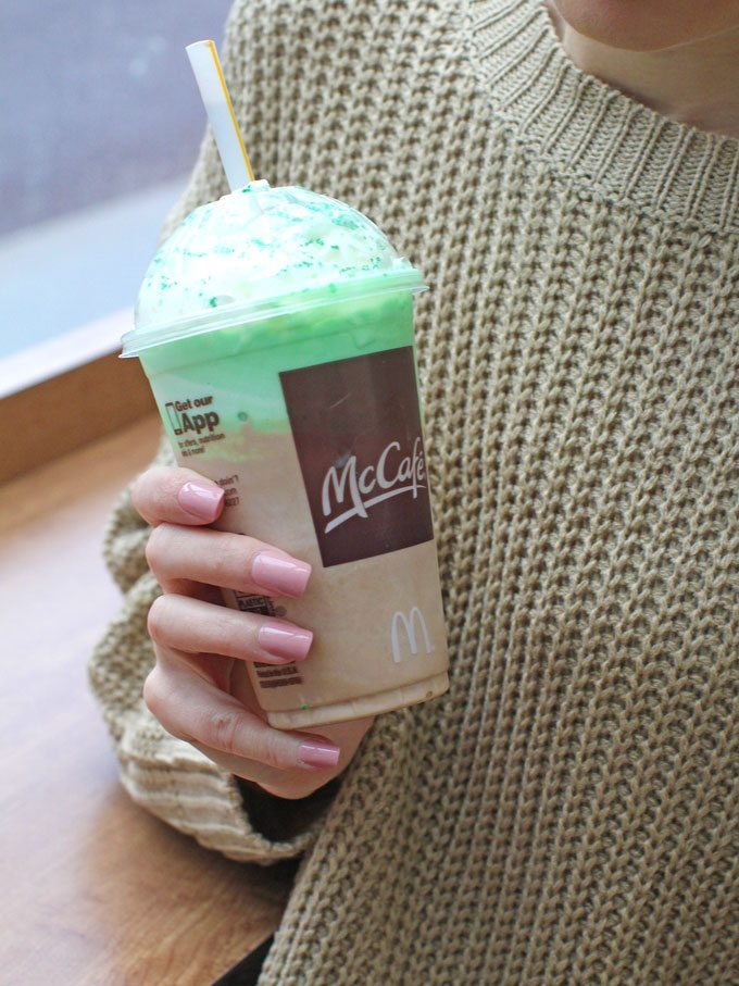 McDonald's Shamrock Shake Review