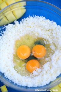 Image of eggs and butter.