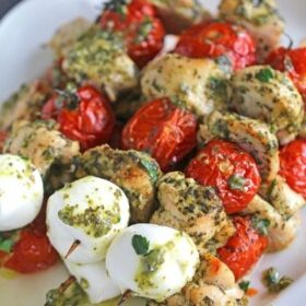 Pesto Chicken Kabobs