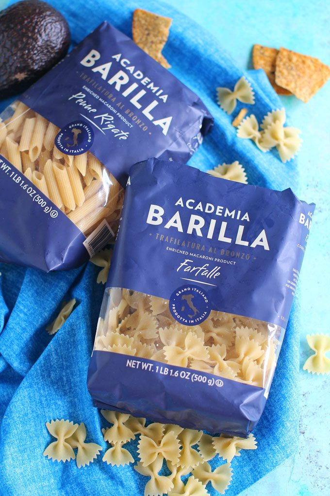 Barilla Pasta for Chicken Enchilada Pasta