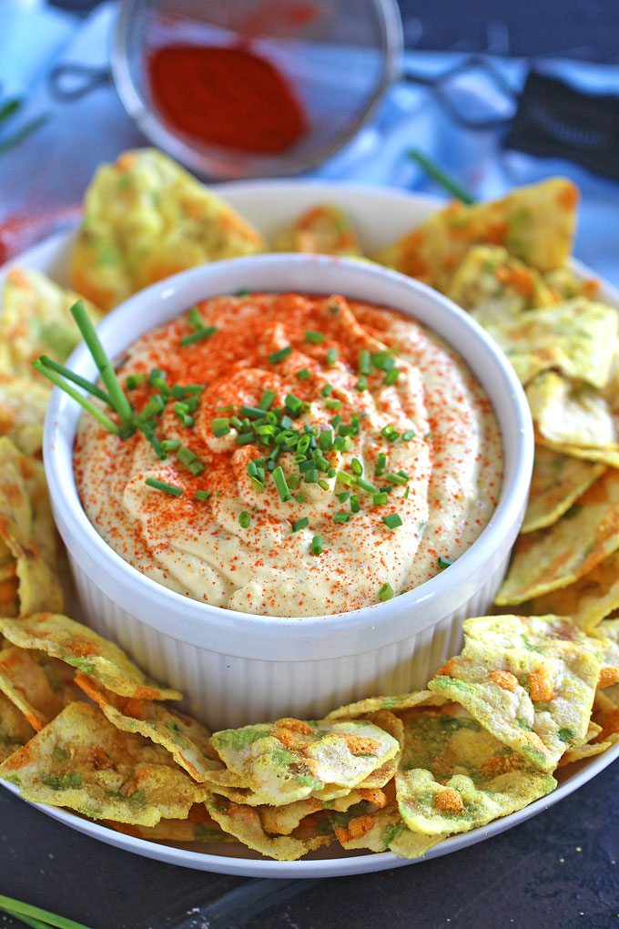 Deviled Eggs Dip is creamy, just a bit spicy, this is an easy and delicious appetizer.