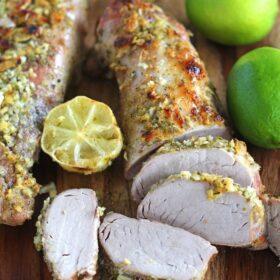 Garlic Lime Pork Tenderloin