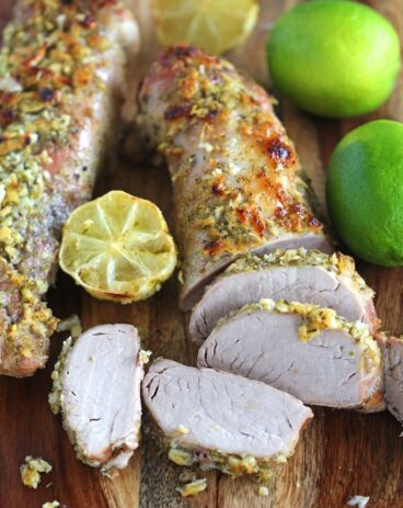 Garlic Lime Pork Tenderloin