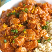 Instant Pot Orange Chicken is healthier than takeout and only takes around 30 minutes to make.