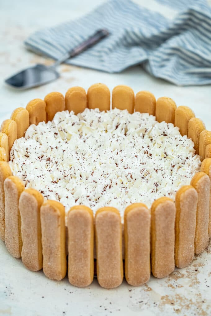No Bake Tiramisu Cheesecake