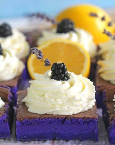 Magic Purple Cake With Lavender And Lemon