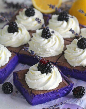 Magic Purple Cake With Lavender And Lemon