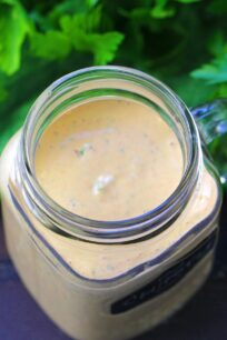 Chipotle Sauce is great on salads, as a dipping sauce and even as a marinade. Spicy, creamy and refreshing, ready in just 5 minutes.
