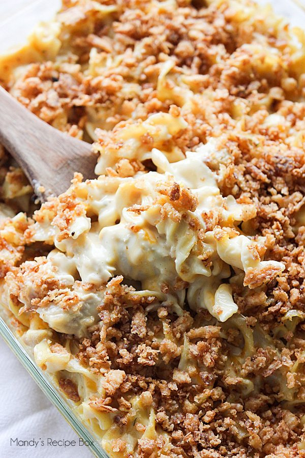 Weekly Meal Plan - French Onion Chicken Noodle Casserole