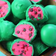 WATERMELON TRUFFLES - NO BAKE