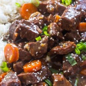 Slow Cooker Beef Teriyaki