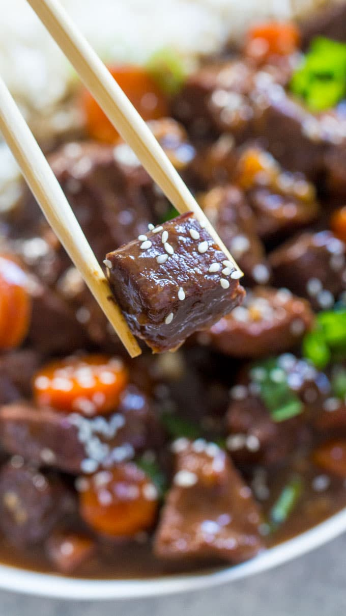 Crockpot Beef Teriyaki Recipe